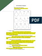 2d presentation techniques questions