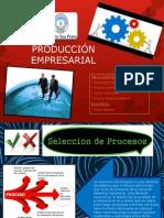 PRODUCCIÓN EMPRESARIAL PROCESO DE PRODUCCION Y SERVICIO.pptx