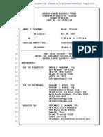 SD FL DOC 145 - Klayman v Judicial Watch - Testimony of Orly Taitz - S.D.fla._1-13-Cv-20610_145
