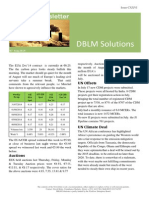 DBLM Solutions Carbon Newsletter 07 Aug 2014