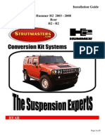 How to Install A Strutmasters Conversion Kit