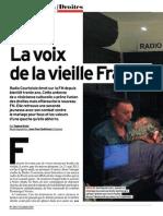 Article sur Radio Courtoisie dans L'Express n° 3301 (octobre 2014)
