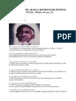 TRADUCTION DE ABADAA BOUROUQ DE SEYDI EL HADJ MALICK SY.docx