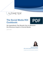Report SocialMediaROICookbook Altimeter(1)