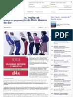 Com 28 mil a mais, mulheres lideram população de Mato Grosso do Sul - Fátima News.pdf
