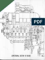 Rolls Royce Merlin Longitudinal Engine Section Figure 1