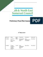 PFRA Preliminary Assessment Report Part 1