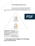 Step by Step Guide for Installing Exchange Server 2013