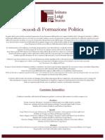 Formazione Politica Programma