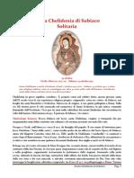 13 ottobre santa chelidonia di subiaco solitaria
