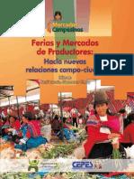 Ferias y mercados de  productores