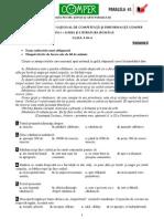 Limba romana clasa III varianta2.pdf