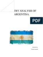 Country Analysis of Argentina