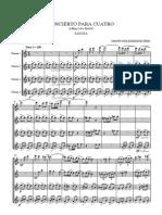 Concierto for four flutes