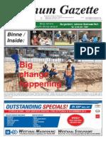 Platinum Gazette 10 October 2014