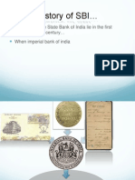 history of SBI