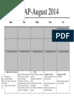 2014-2015 whap calendar