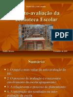 tarefa 3- A auto-avaliação da Biblioetca Escolar