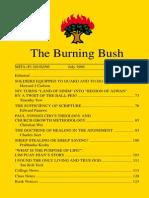 The Burning Bush Vol 2 No 2