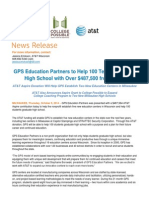 Aspire Grant to GPS, College Possible