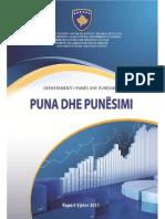 2011 Raporti Vjetor Puna Dhe Punesimi