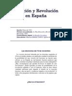 Reacción y Revolución en España.docx