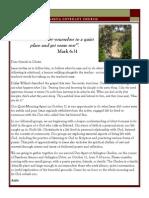 Newsletter - October 2014