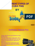Different Types of Scuba Fins