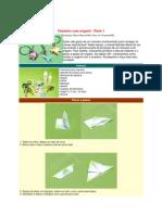Chaveiro de Origami