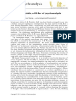 Pontalis - Psicanálise