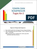Tugas Ke-2 Pompa Dan Kompresor [Compatibility Mode]