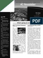 ANC 4C Newsletter Sept 2013
