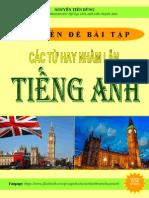 Chuyen de bai tap cac tu hay nham lan tieng Anh.pdf