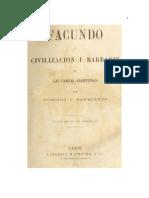 Facundo, civilización y barbarie.pdf