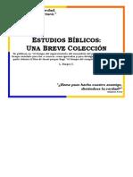ESTUDIOS BÍBLICOS UNA BREVE COLECCIÓN.pdf