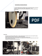 Drum Recording – Microphone Placement.docx