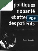 Bruno Dujardin Politiques de santé et attentes des patients.pdf