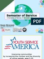 Semester of Service Webinar