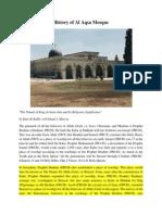 History of Al Aqsa Mosque