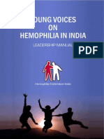 Young Voices on Hemophilia in India Leadership Manual