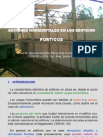 Acciones Horizontales-Pórticos.ppt