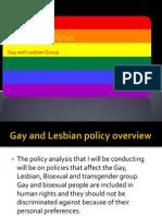 gay and lesbian presentation