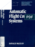 Donald McLean Automatic Flight Control Systems