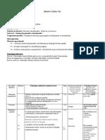 PROIECT DIDACTIC - Schema Funcţională a Calculatorului.