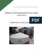 modelo da tecnologia social de acesso  gua n 01 - cisterna de placa.pdf