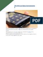 Configurar tu HTC EVO con Datos Correctamente.docx
