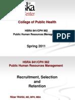 HRM Week 8  2011.03.01 BB
