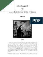John Dee - Liber Loagaeth or Mysteriorumwaeaewe Liber Sextus Et Sanctus Cd3 Id746473400 Size398