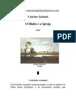 Cairbar Schutel - O Diabo e a Igreja