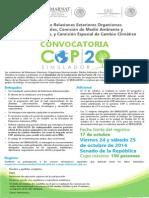 Desde Mexico, SIMULADOR de la COP20